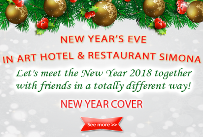 New Year 2018 in Simona restaurant in Sofia