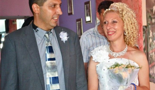 "WEDDING DAY OF GERI AND NIKOLAY IN RESTAURANT ""SIMONA"", SOFIA"
