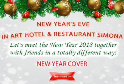 New Year 2018 in Simona restaurant in Sofia