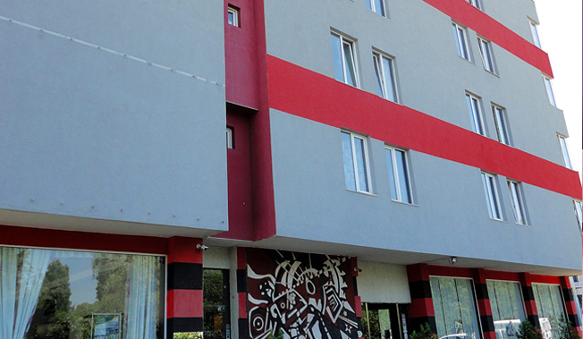 Арт хотел Симона в София с обновена фасада!
