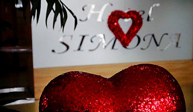 Празникът на влюбените в Арт Хотел и Ресторант *** Симона