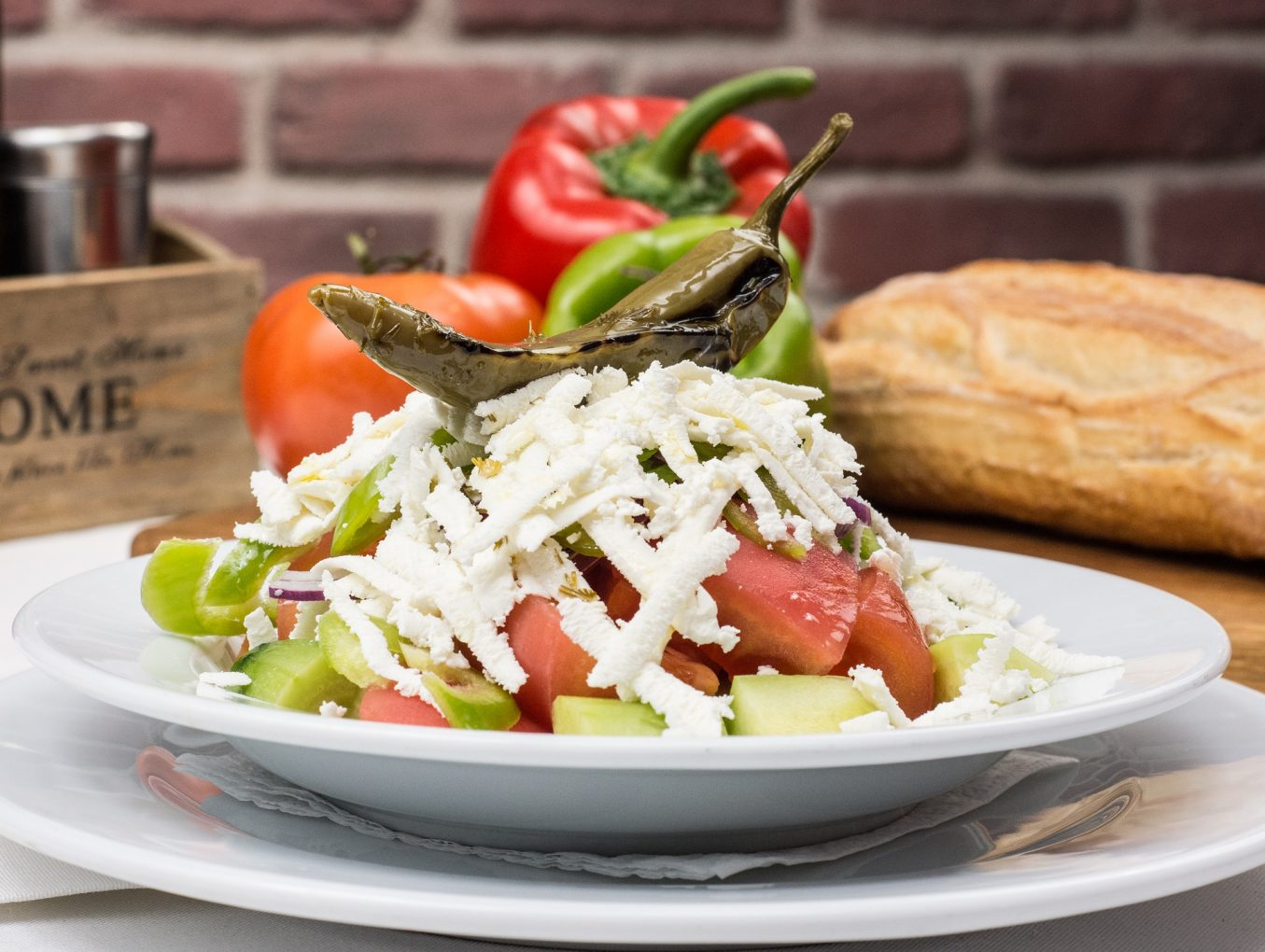 Shopska Salad - One of the Favorite Salads of the Foreigners