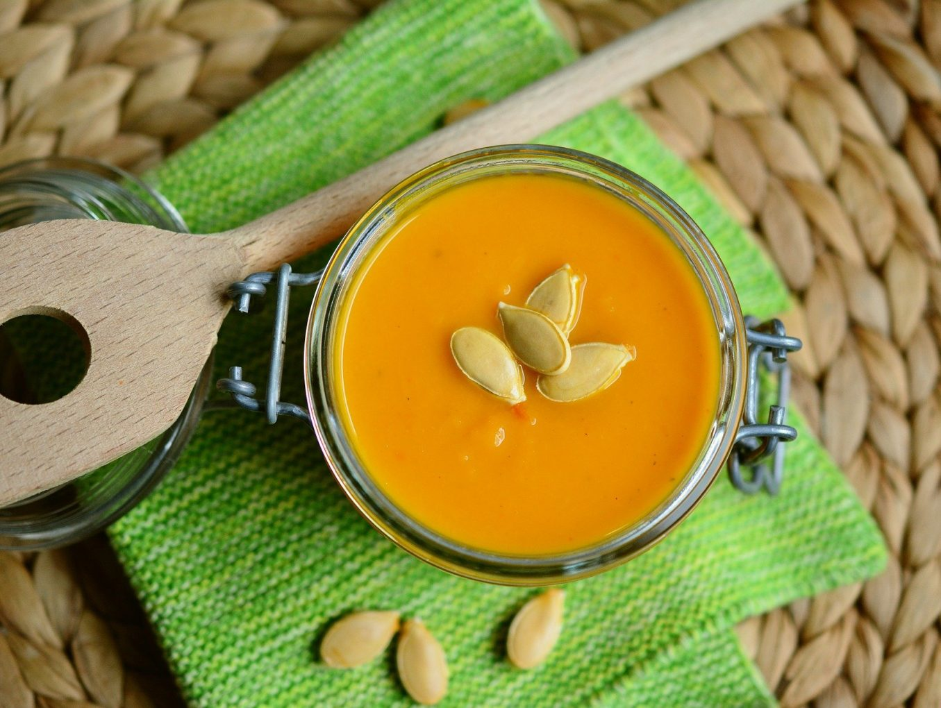 Delicious Idea: Easy Cream Soup of Pumpkin and Ginger