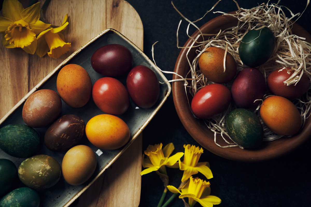 Да боядисаме великденските яйца!