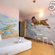 Единична стая 503 - Графити етаж
