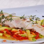 Пиле със зеленчуци в ресторант Симона, София